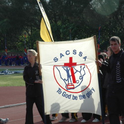 SACSSA Athletes Marching
